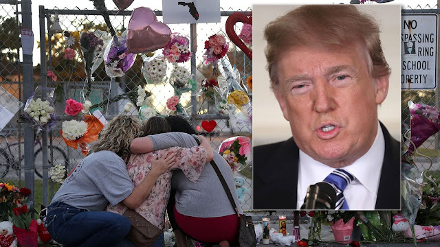 donald-trump-florida-shooting-mourners