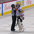 Malcolm Subban gets in official's face while arguing goal call