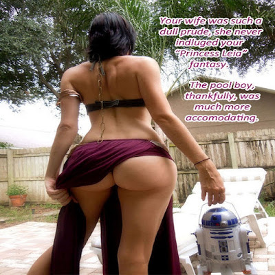Slave Princess Leia Fantasy Sissy TG Caption - Hard TG Captions - Crossdressing and Sissy Tales and Captioned images