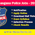 TS SI Notification 2015 Police Constable Posts Recruitment Telangana Go 156