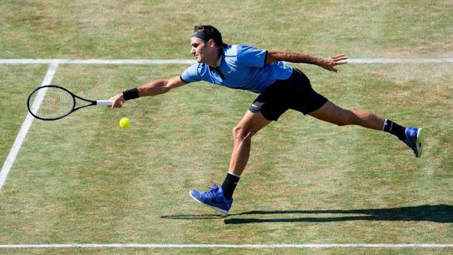 Federer Kalah pada Laga Comeback-nya