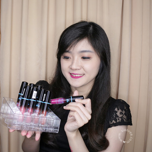 QL Cosmetics Lip Cream Matte, QL Cosmetics review, QL Cosmetics Lip Cream Matte review, Review Lipen QL Cosmetics, Lip Cream murah meriah, Lip Cream recommended Bahasa Indonesia, Xiao Vee, Shelviana Handoko, Xiao Vee Blogger, Indonesian Beauty Blogger, Surabaya Beauty Blogger