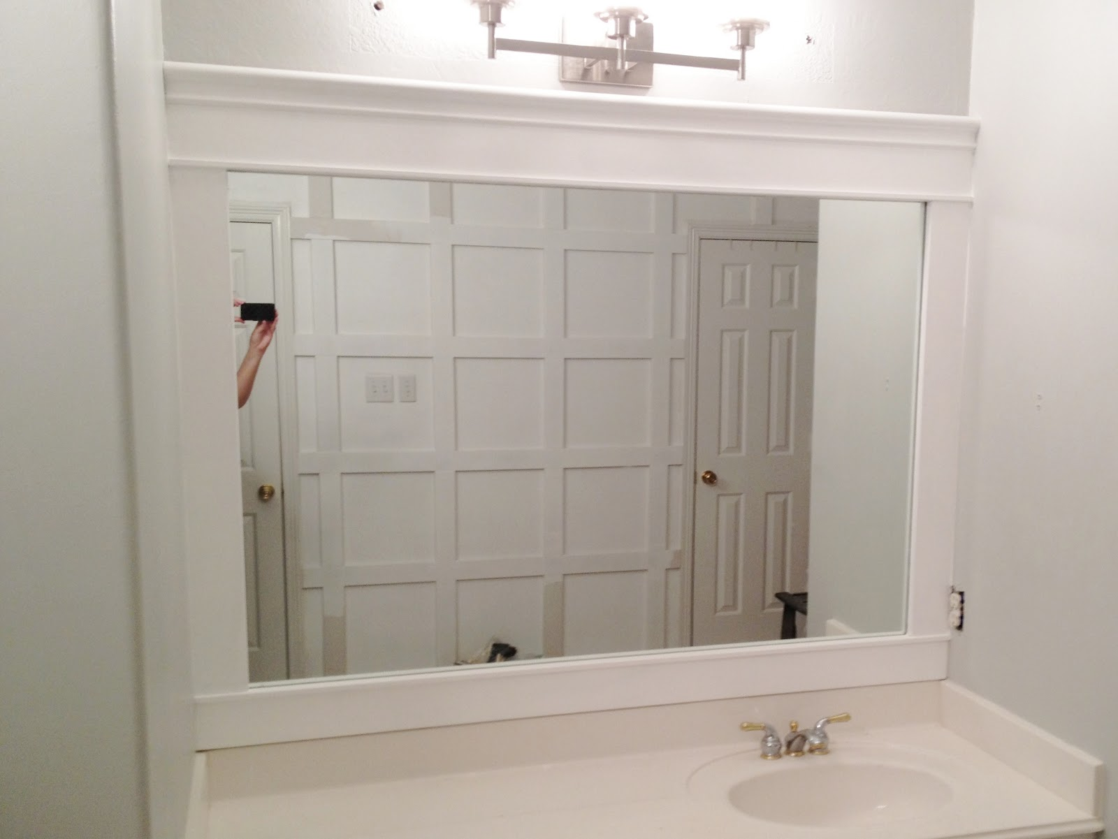 Engineering life and style framing contractor grade mirrors - Frames for bathroom vanity mirrors ...