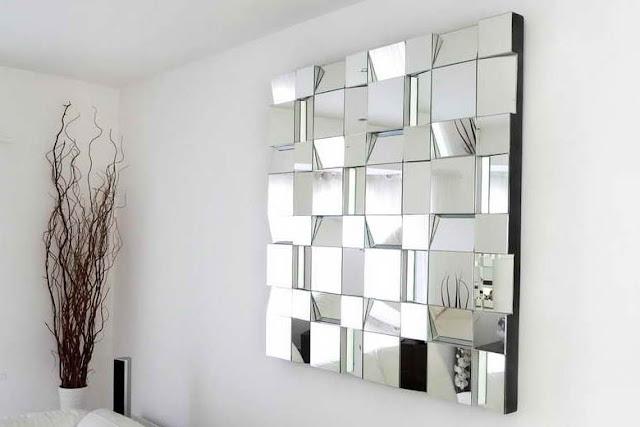 Decoraci n de salas con espejos decoraci n del hogar for Como hacer espejos decorativos