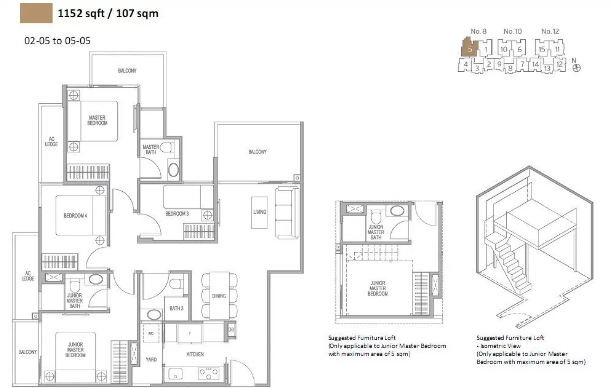 Adana @ Thomson Floor Plan