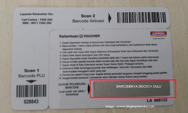 Pengalaman Belanja Menggunakan Voucher Indomaret - Blog Mas Hendra