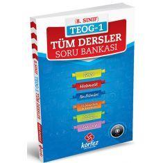 Körfez 8.Sınıf TEOG-1 Tüm Dersler Çözüm Dvdli Soru Bankası (2017)
