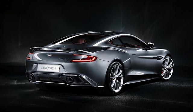 2015 New Aston Martin Vanquish  Edition back view