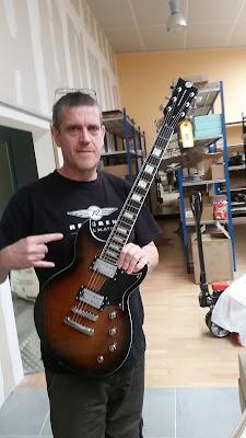 Guitare Reverend Sensei RA