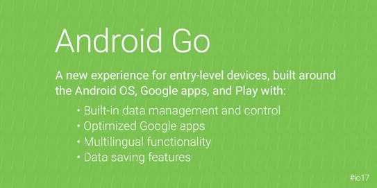 Android Go OS Will Be Coming To Smartphones With 1GB & 512MB