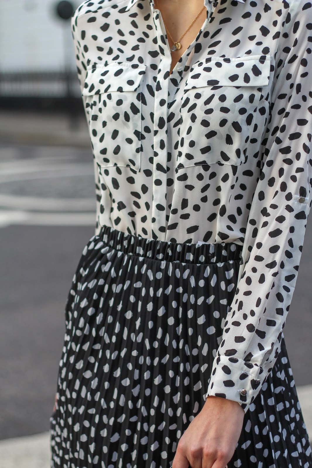 peexo pebble print blouse primark