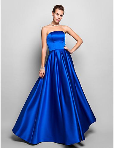 vestidos de XV años azul francia