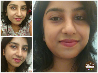 Had Applied Aroma Essentials Argan Day Serum underneath BB cream -perfect dewy finish-ANAMIKA CHATTOPADHYAYA