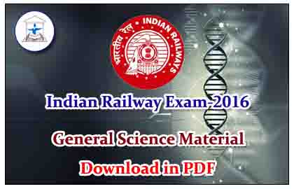RRB GK Essentials- General Science material Download in PDF