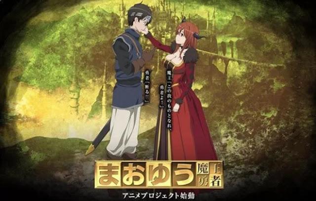Maoyuu Maou Yuusha (Maoyu ~ Archenemy & Hero) - Best Fantasy Romance Anime list