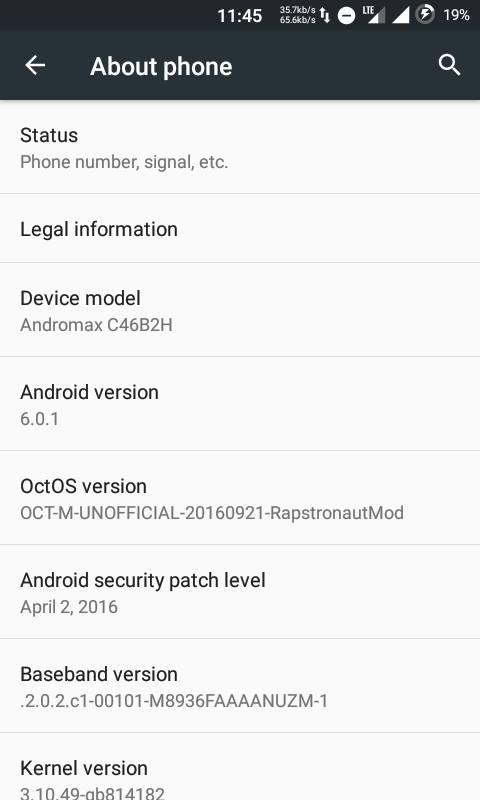 PORTC46B2H2GSM ONLY601OCT Os Based CyanogenMod