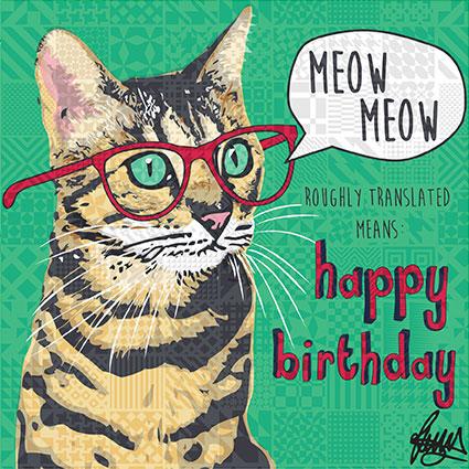 Tabby Cat Club Happy Birthday To Gracies Mom