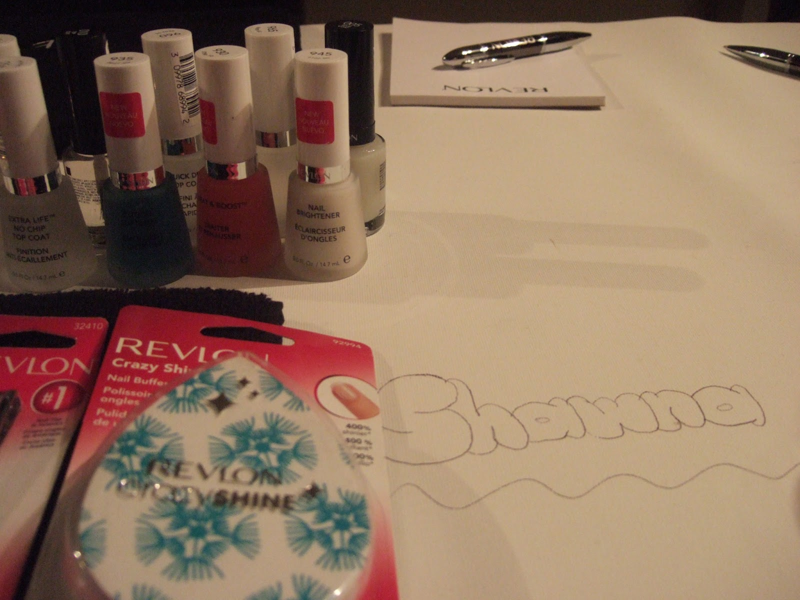Revlon Nail Art Event #RevlonNailArt
