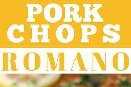 Pork Chops Romano In Lemon-Butter Sauce