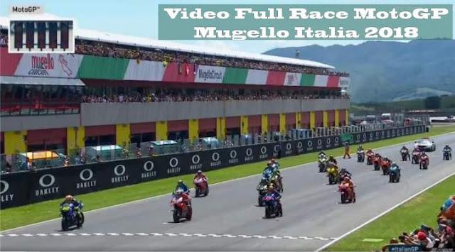 Video Full Race Motogp Mugello Italia 2018