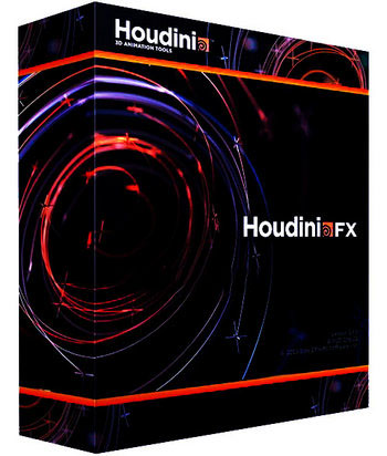 SideFX Houdini FX v15.5.746 poster box cover