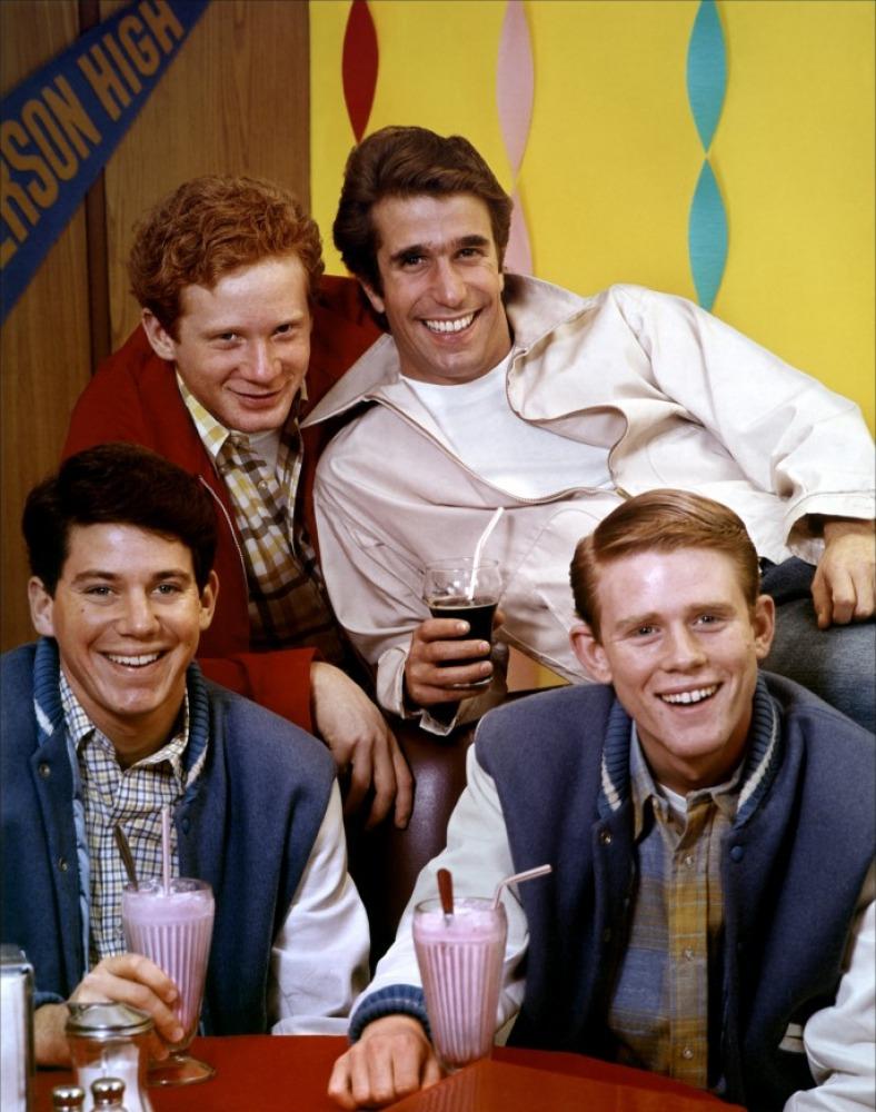 The Flaming Nose The Tv Sidekick Blogathon Ralph Malph Of Happy Days