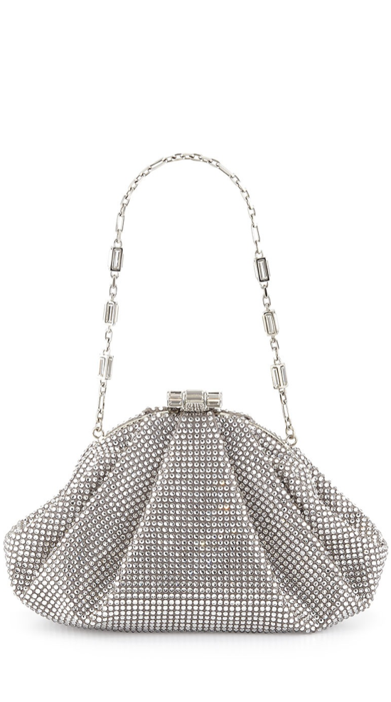 Judith Leiber Couture Enchanted Allover Beaded Pochette