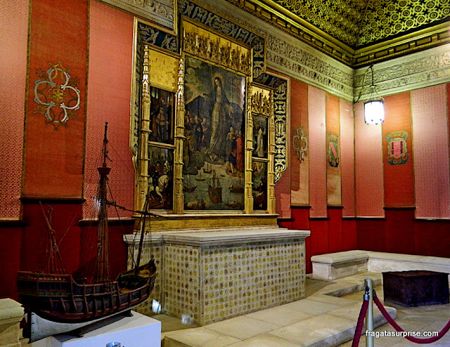 Casa de Contratação, no Real Alcázar de Sevilha
