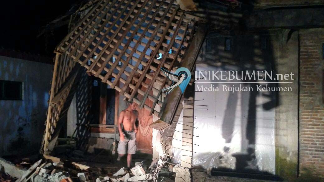 Gempa Jawa Barat Rusak 14 Rumah Warga Kebumen