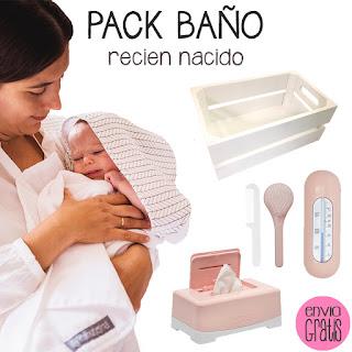blog mimuselina idea regalo bebé recién nacido en verano kit baño capa de muselina