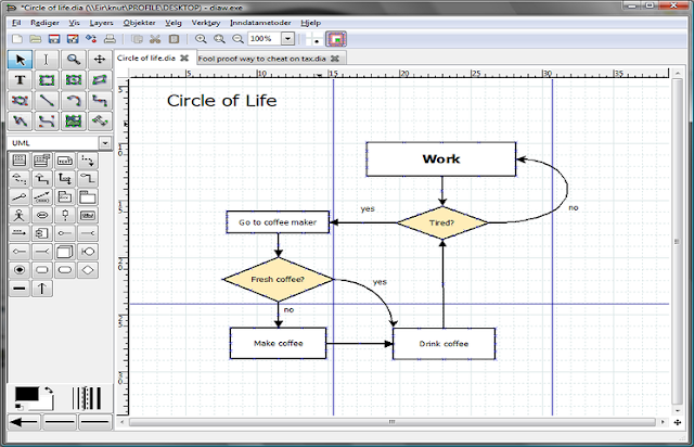 Free download dia diagram editor 0972 office tools ccuart Images
