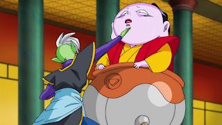 Zamasu y Zuno. Black Goku