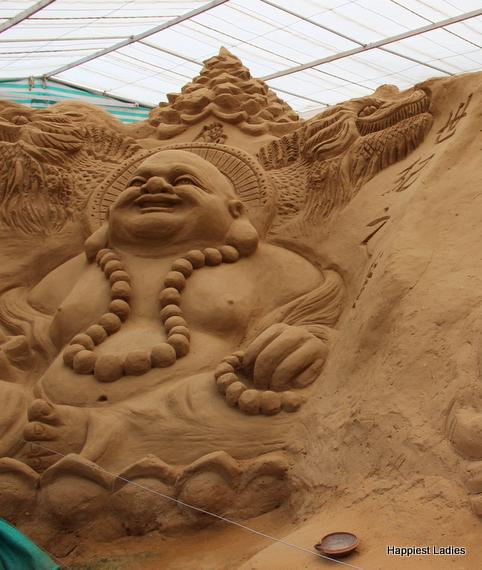 Laughing Buddla Mysore Sand Museum