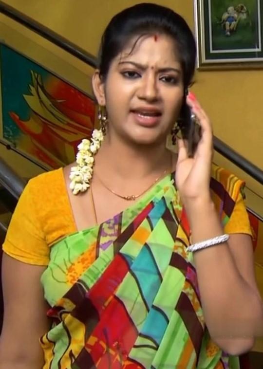 Tamil Hot Collections Priyamanaval Serial Actress -7442