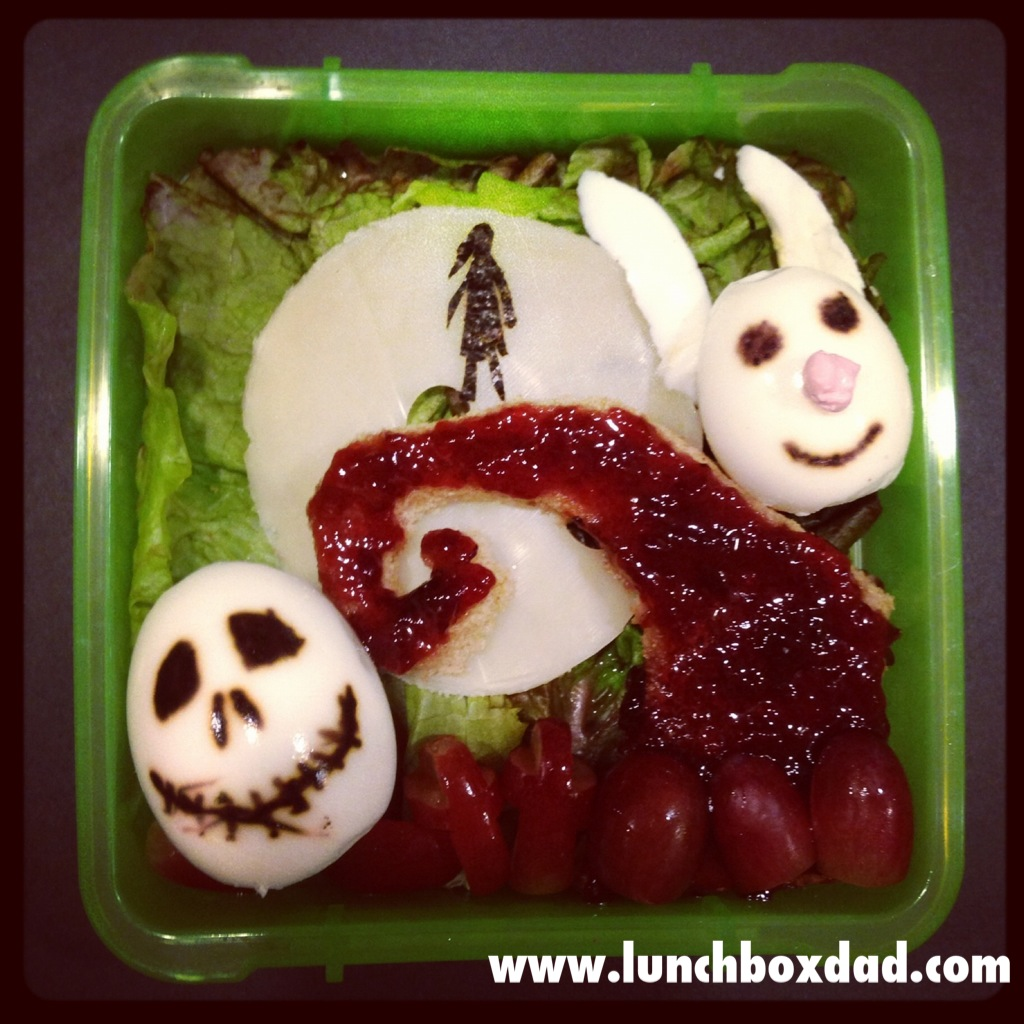 Lunchbox Dad: Week 7: A Nightmare Before Christmas