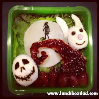 Halloween nightmare before christmas kids lunch