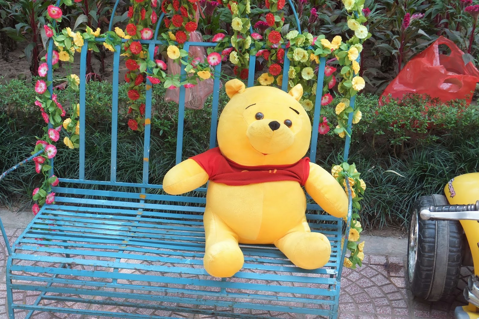 hanoi-zoo-poo ハノイ動物園のプーさん