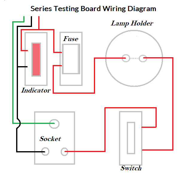 Series Testing Board Electrician Education