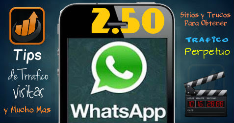 Whatsapp 2.50