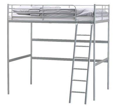 Sold Ikea Full Size Loft Bed 60