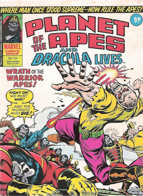 Marvel UK, Planet of the Apes #122