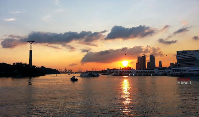 Singapur sentosa adasi
