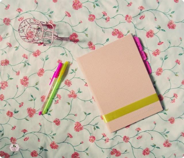 caderno forrado diy, diy capa de caderno, diy fácil, diy volta as aulas, diy agenda, blog de casal