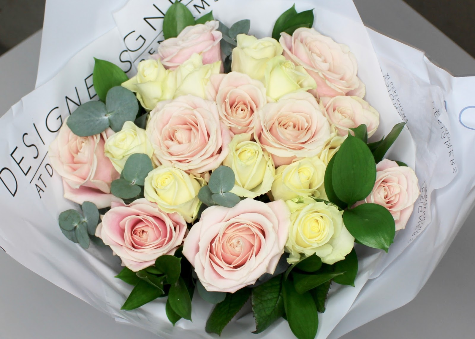 Mother s Day luxury avalanche rose bouquet from Debenhams Flowers and 25%