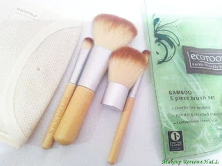 Ecotools 5 piece brush set review