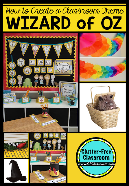 Wizard Of Oz Themed Classroom Ideas Printable Classroom