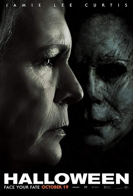 Halloween 2018 movie poster David Gordon Green Jamie Lee Curtis