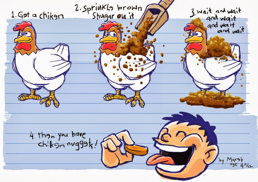 Funny Chicken Quotes Quotesgram: Quotes About Chicken Nuggets. QuotesGram