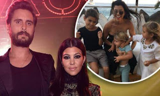 Scott Disick and Kourtney Kardashian kids