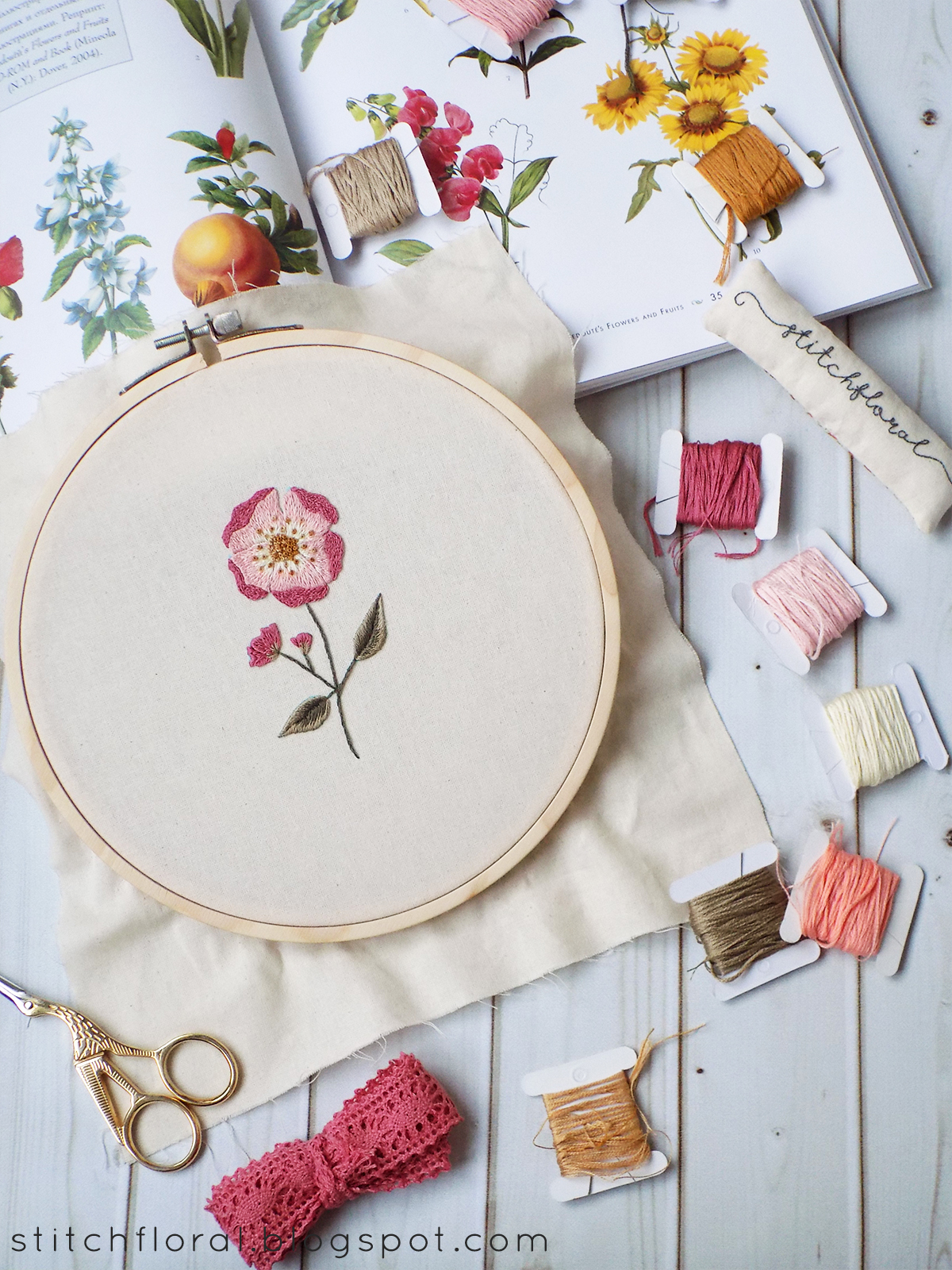 8 Spring And Summer Hand Embroidery Projects Stitch Floral